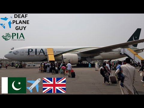 ✈TRIP REPORT   PIA Pakistan international airlines B777-200er   Islamabad to Manchester   March 2018