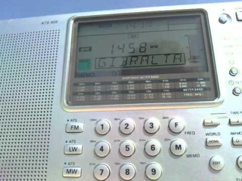 RADIO GIBRALTAR in Spanish.