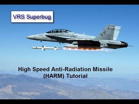 VRS Superbug - High-Speed Anti-Radiation Missile (HARM) tutorial