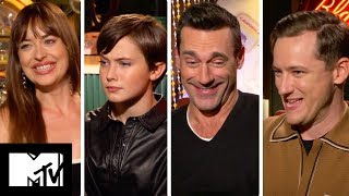 Bad Times At The El Royale Cast Play Never Have I Ever *SPOILERS*   MTV Movies