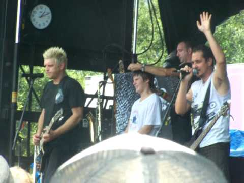 Less than Jake gives kid a mohawk