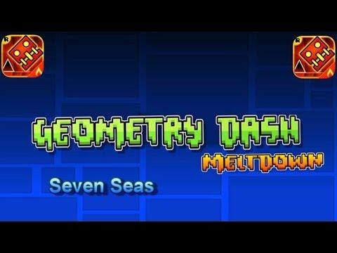 Geometry Dash Meltdown -  Seven Seas  [1 hour loop] | Full Song