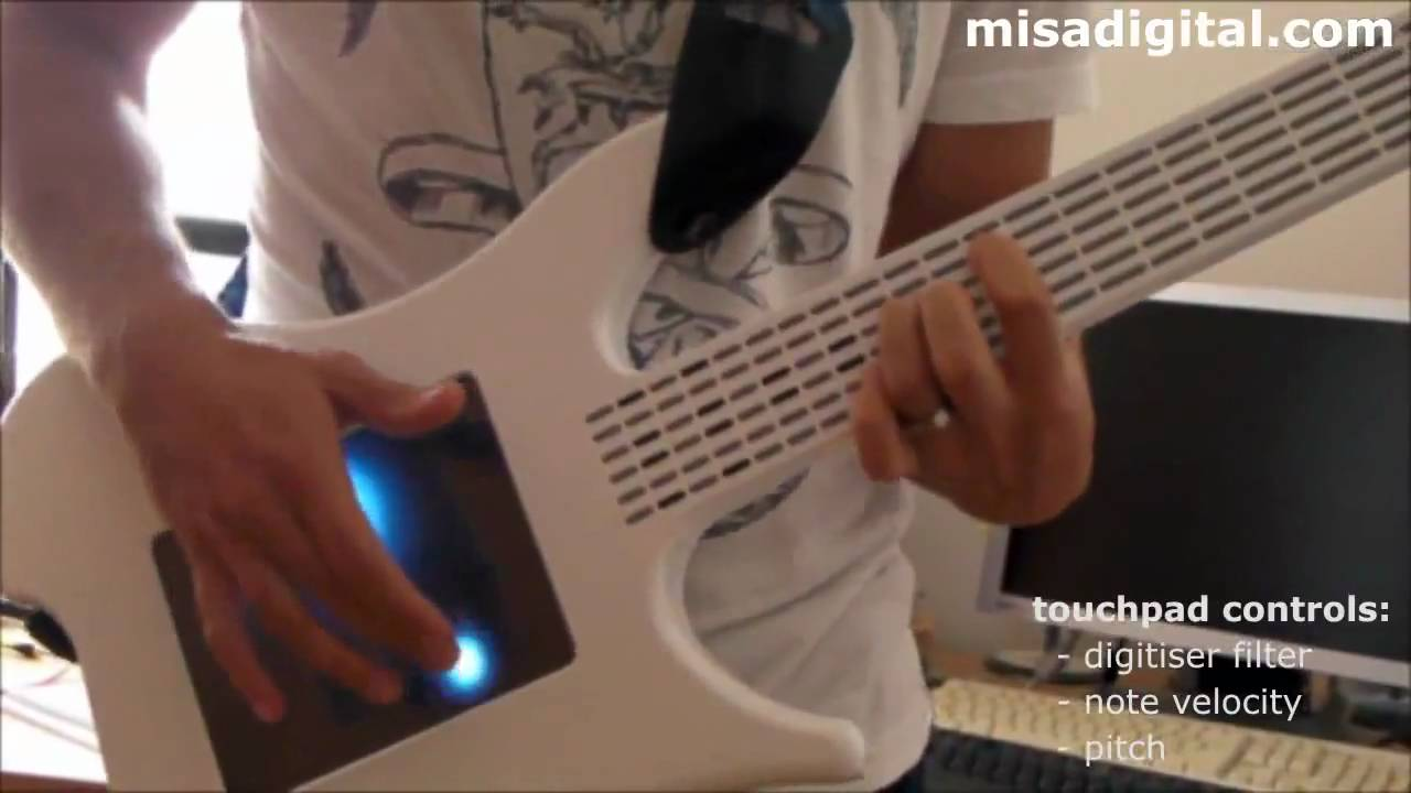 Misa Digital Guitar with Touchscreen [HD] - YouTube