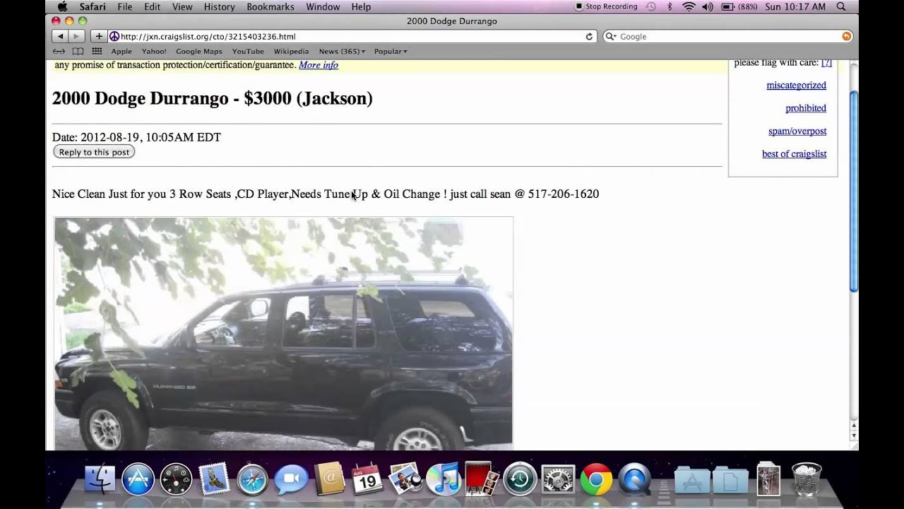 Jackson michigan craigs list