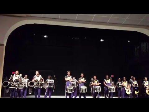 Boynton Beach High School Drumline at The Annual Drumline Soundoff in Boynton Beach 2016