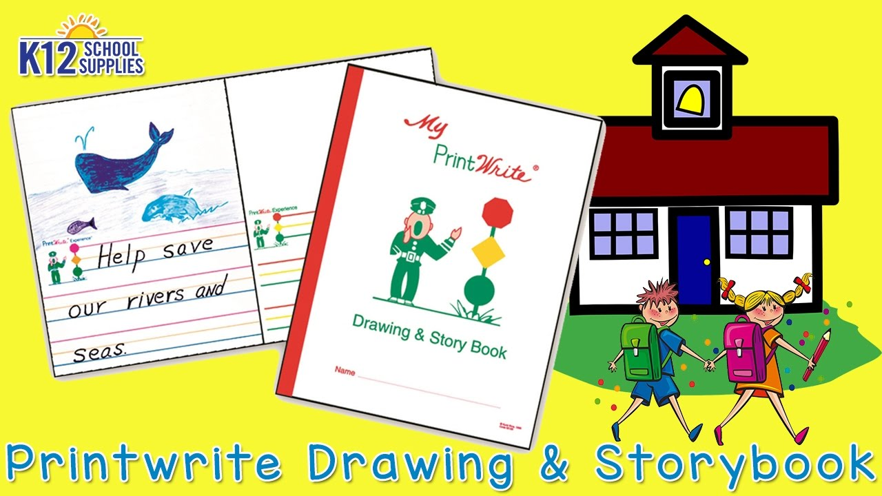 Make a Story Book - Create a Story - Drawing and Storybook