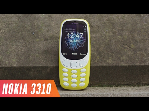 The Nokia 3310 is back
