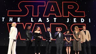 Star Wars: The Last Jedi cast surprises fans in Disney Studios presentation at the D23 Expo 2017