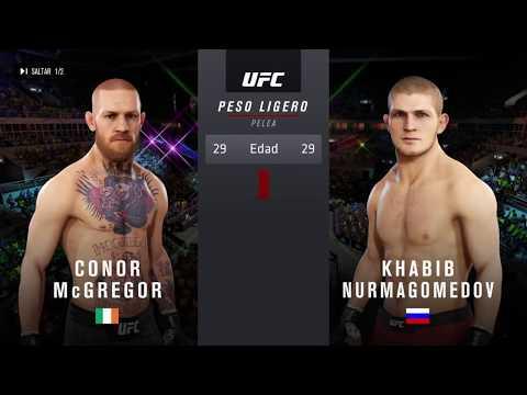 Khabib vs McGregor - Pelea Online Clasificatoria - UFC 3 - PS4