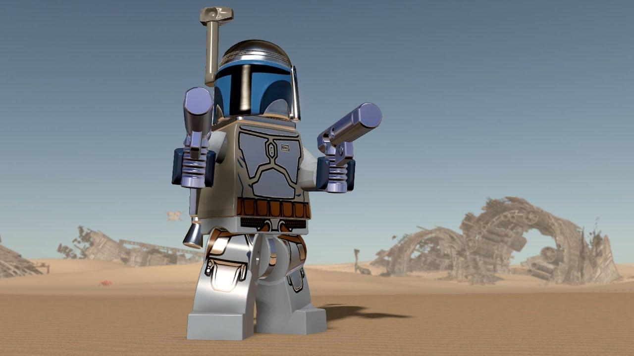 LEGO Star Wars: The Force Awakens - Jango Fett | Free Roam ...