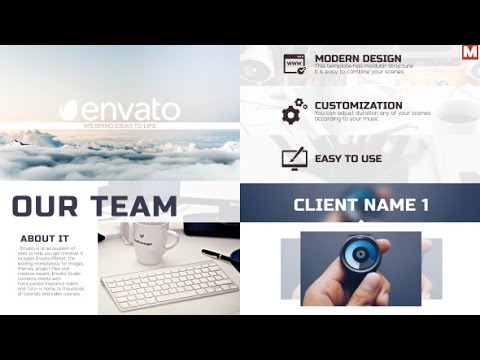 9 FREE After Effects Templates