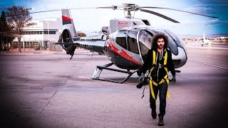 Extreme Photography Hanging From A Helicopter: Canon 5D Mark III and Canon 11-24 F4