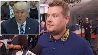 James Corden Says It Should Be No Surprise If Celebs Chastise Trump At Grammys