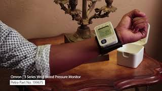 Spotlight On Omron's 3 Series Wrist Blood Pressure Monitor