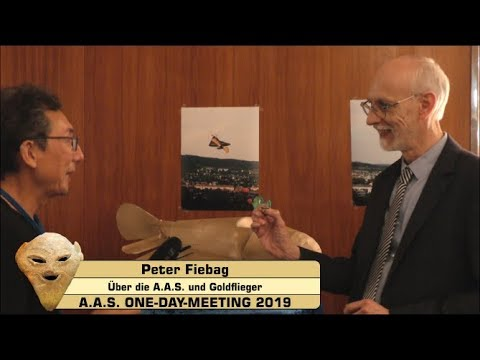 Peter Fiebag über die A.A.S. - A.A.S. ONE-DAY-MEETING 2019