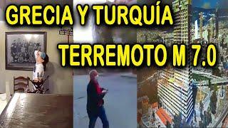 TERREMOTO EN TURQUÍA Y GRECIA DE M. 7.0  | 30 de Octubre 2020