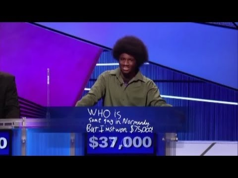 Jeopardy! - The Exciting (And Amusing) Teen Tournament Conclusion (Feb. 12, 2013)