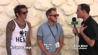 We Came As Romans talk w Eric Blair about life and music @ 2013 Vans Warped Tour