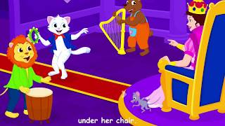 Pussy Cat Pussy Cat | Nursery Rhymes | Kids Songs | Children's Music Videos