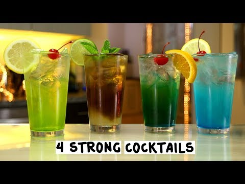 Four Strong Cocktails