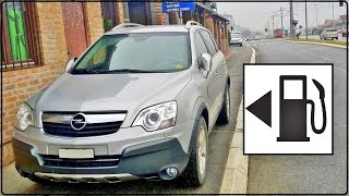 Opel Antara 2.0 CDTi 4WD 150 cv Fuel Consumption Test