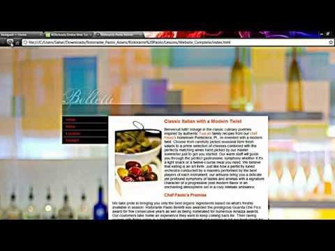 آموزش طراحی وب سایت ، جلسه اول