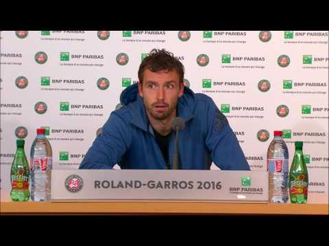 French Open 2016: Ernests Gulbis Round 4 Post Match Interview