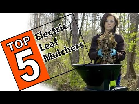 🌻 The 5 Best Leaf Mulchers To Reclaim Your Yard  - Best Electric Shredders Of 2019