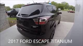 walkaround 2017 ford escape titanium