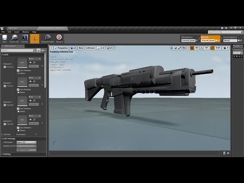 TPS Weapon Build Part 1 - Setup and Import of Custom Weapon Mesh