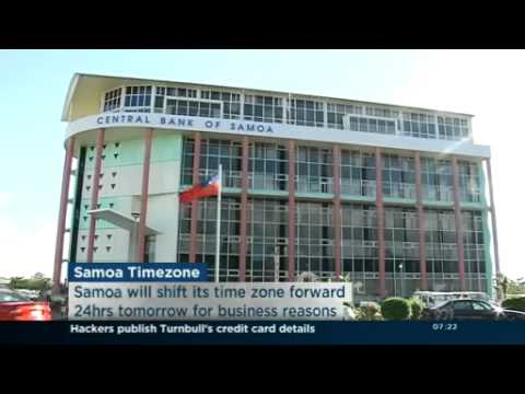 Samoa to SKIP Friday in Time Zone Change from YouTube · Duration:  2 minutes 16 seconds