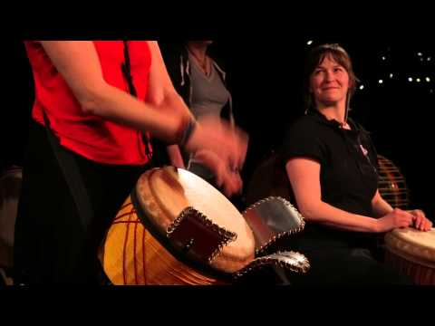 Les joies du djembe: Catherine Veilleux at TEDxGatineau