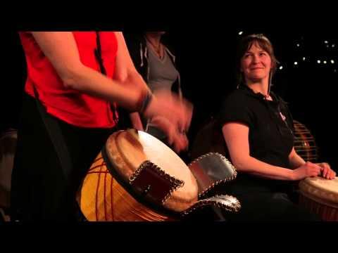 Les joies du djembe: Catherine Veilleux at TEDxGatineau