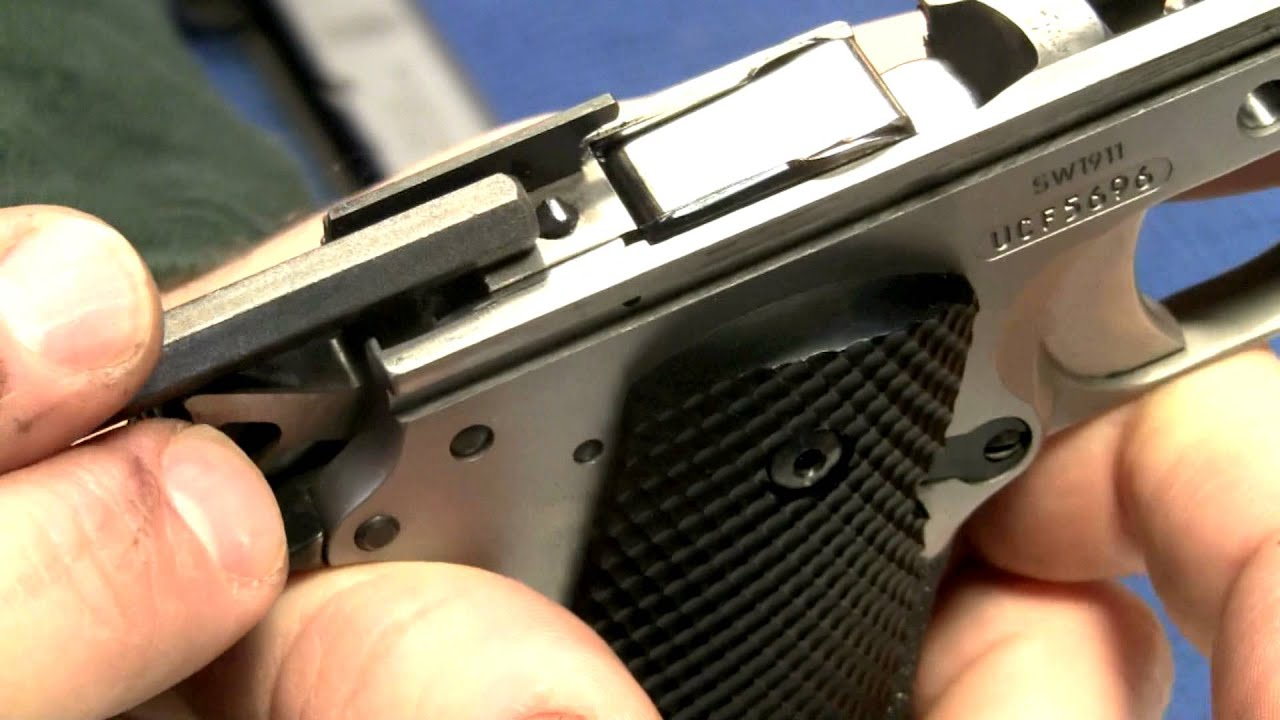 A 1911 Modification You Ve Never Seen Youtube