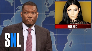 Weekend Update on Kim Kardashian's Stolen Diamonds - SNL