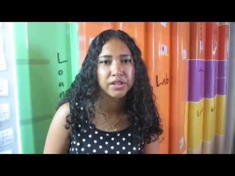 Gabriella Bousaid from Middlesex Dubai University Undergraduate at Dubai Career Clinic session