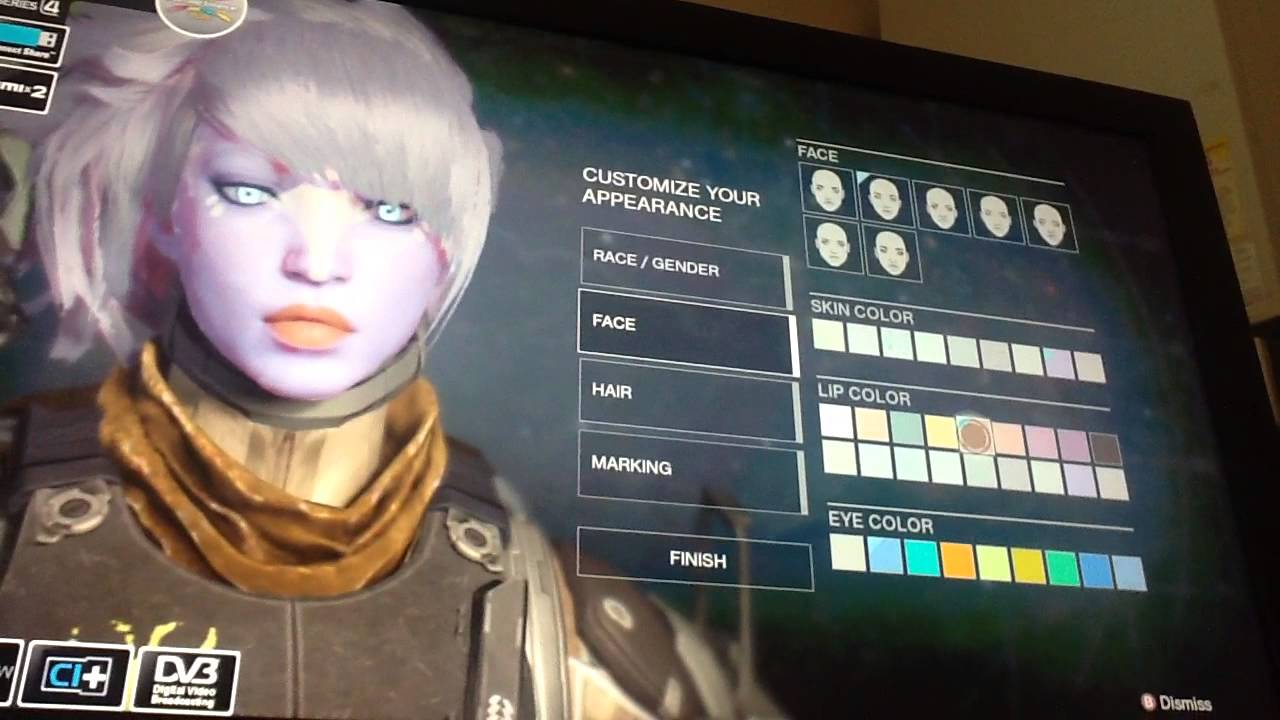 Destiny character customization sexy