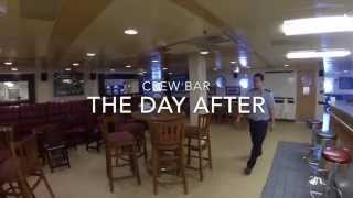 QUEEN MARY 2 CREW BAR- My Way to the Seven Seas