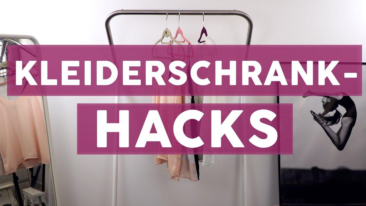 6 geniale Hacks für mehr Ordnung im Kleiderschrank | LIFEHACKS