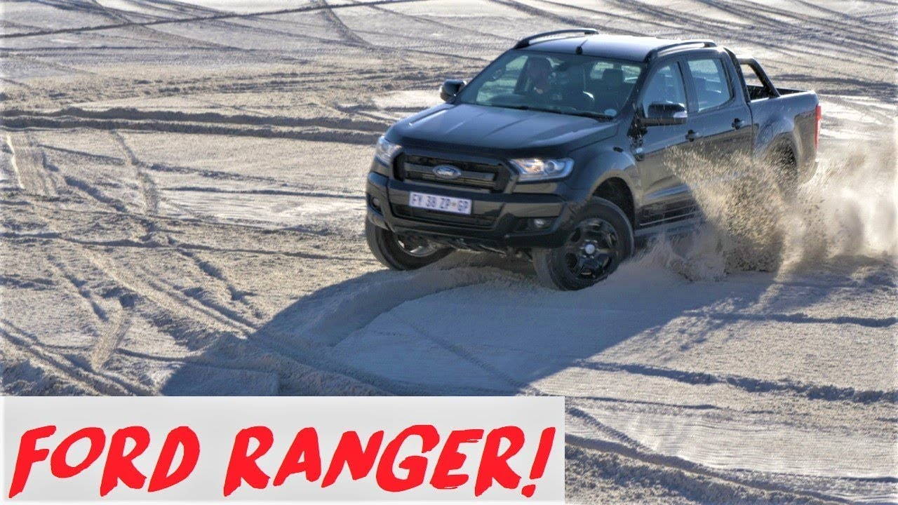 Drifting Dunes in a Ford Ranger FX4