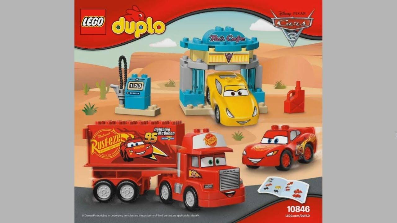 Lego Duplo 10846 Flos Caf Instruction Timelapse Youtube