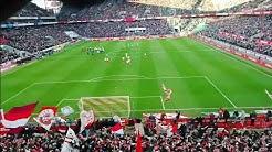 1.FC Köln Hymne im Stadion live + Tor (hymne) | Köln gegen Bremen 2019 🇮🇩