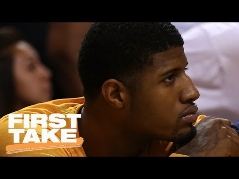 Pacers Asking Celtics For Too Much In Paul George Trade | First Take | June 30, 2017