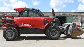 телескопический погрузчик Manitou MT625 Comfort - 2012(Компания