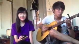 Chân Ngắn-Cẩm Vân  Girl xinh Cover Guitar