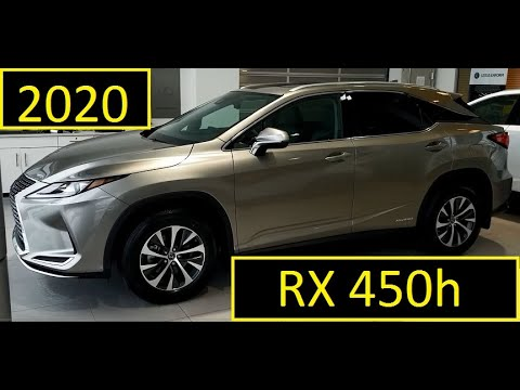 2020 Lexus RX 450h Premium Package Review Of Features And Walk Around In Atomic Silver