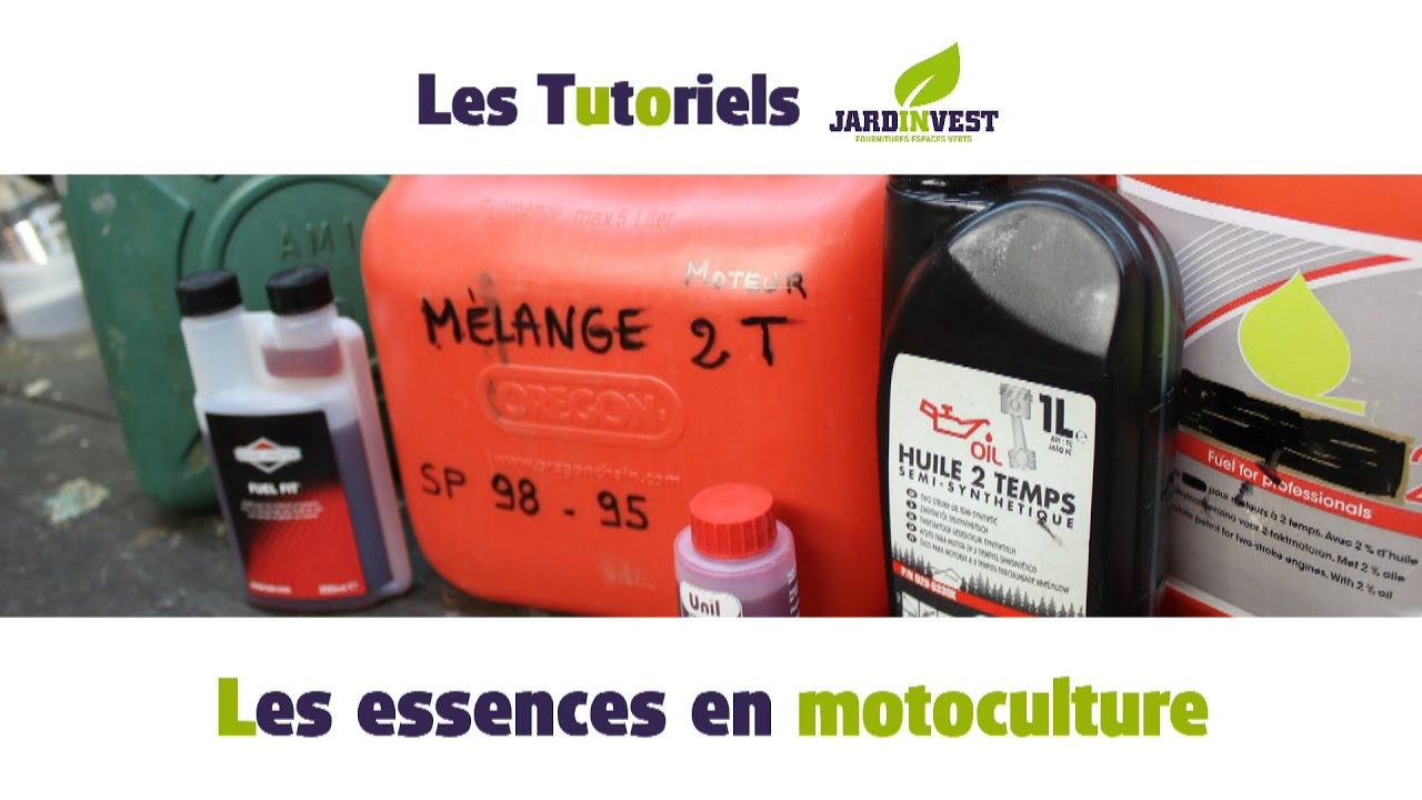 tutoriel jardinvest les essences en motoculture m lange et essence alkylate 2 temps et 4. Black Bedroom Furniture Sets. Home Design Ideas