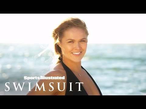 Ronda Rousey On Set For Swimsuit Photoshoot | Sports Illustrated Swimsuit