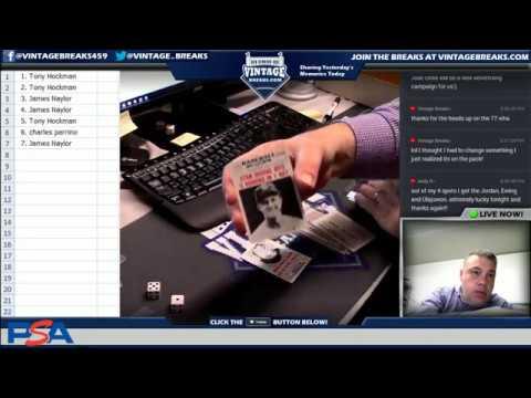 71018 1961 Nu Card Scoops Baseball Wax Pack Break Video Opening