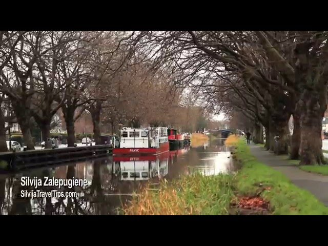 Patrick Kavanagh skulptūra prie Grand Canal, Dublinas, Airija - Silvija Travel Tips #UnravelTravelTV